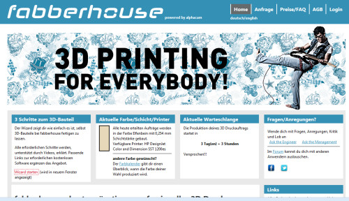 Website von fabberhouse.de